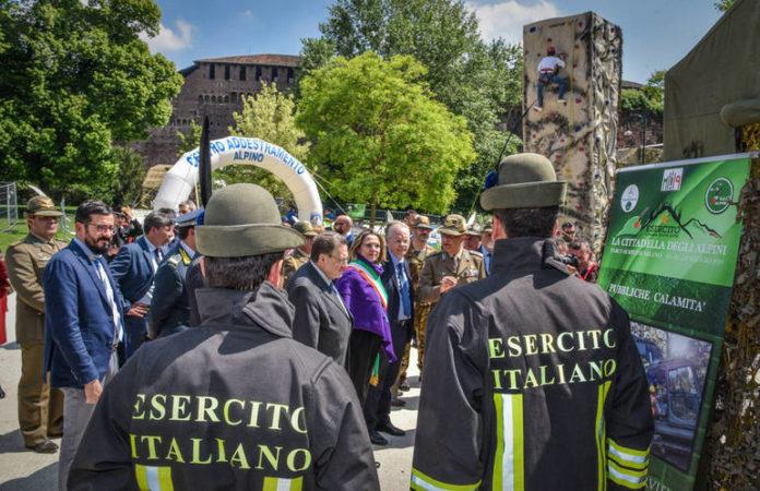 Cittadella degli Alpini a Milano