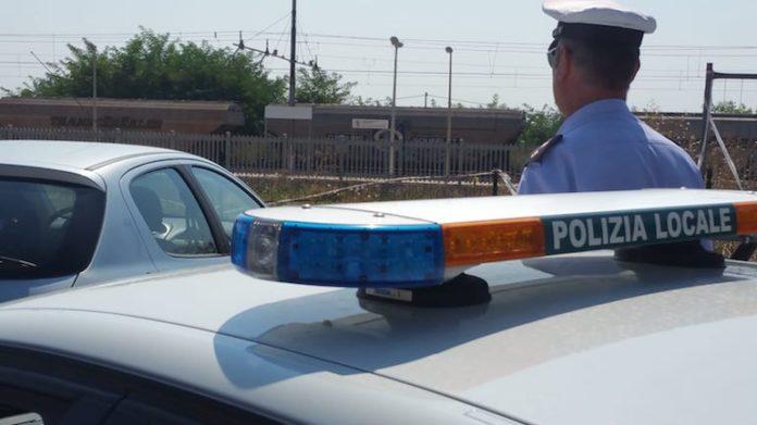 la polizia locale di centallo in una foto di repertorio