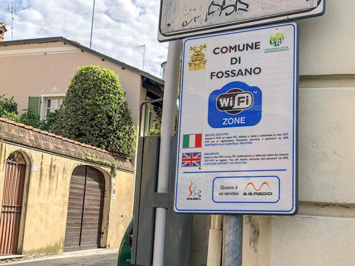 Il wi-fi a Fossano foto di repertorio