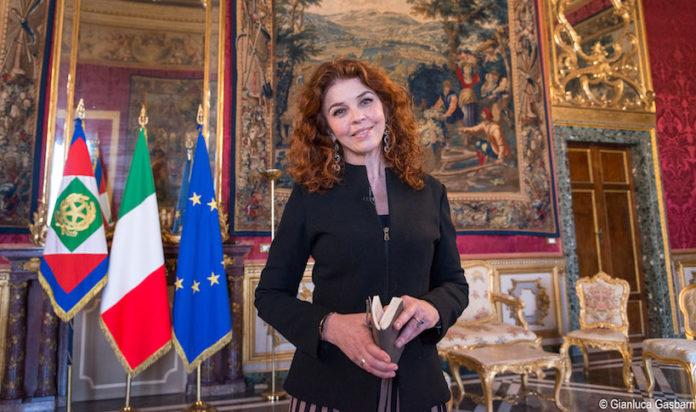 Paola Saluzzi al Quirinale