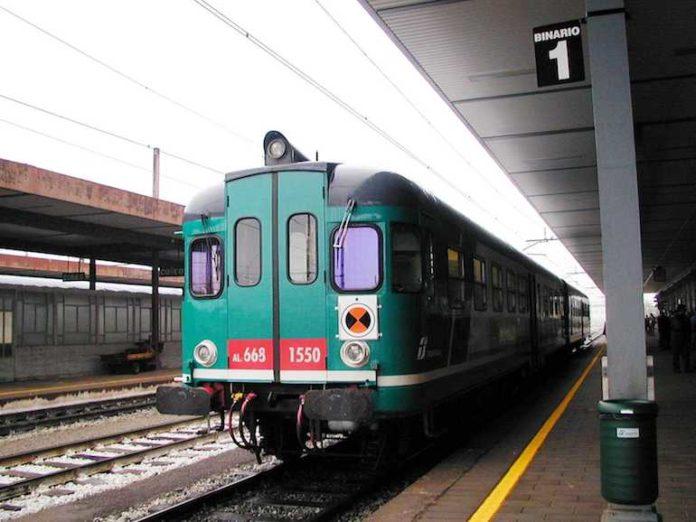 la Stazione di Fossano, foto di repertorio