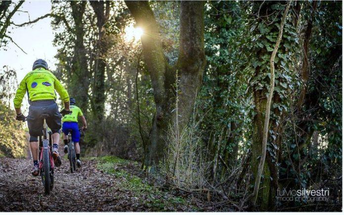 Un'immagine dei percorsi per mountain bike presenti a Bene Vagienna