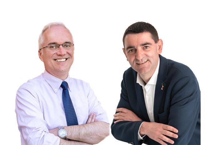 Paolo Cortese e Dario Tallone di Fossano, domenica 9 giugno 2019 al ballottaggio