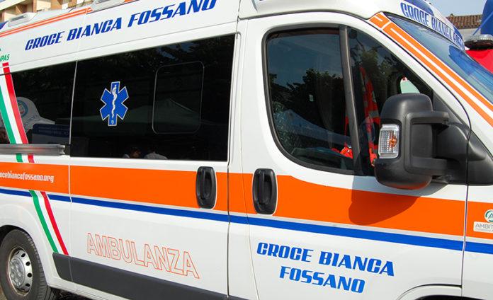 Ambulanza della Croce Bianca di Fossano