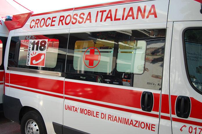 Ambulanza della Croce Rossa italiana
