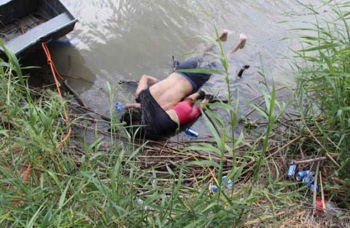Messico papà e bimba annegati nel tentativo di attraversare il Rio Grande