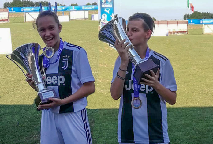 Carlotta Servetto e Martina Costantino Juventus Under 15
