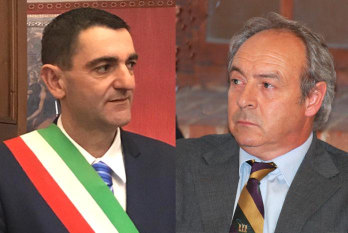 Tallone Dario sindaco di Fossano - Pellegrino Giacomo vice sindaco