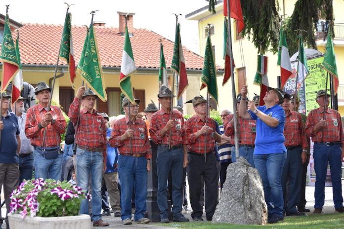 Roata Chiusani, i 40 anni del Gruppo Alpini