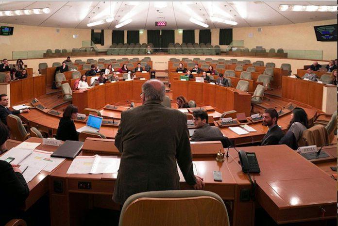 il consiglio regionale del Piemonte. Foto d'archivio