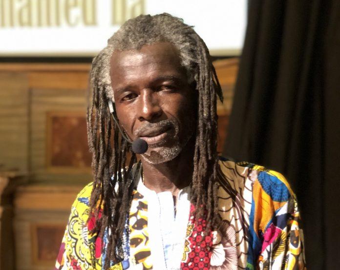 L'artista senegalese Mohamed Ba a Fossano per Migrazioni
