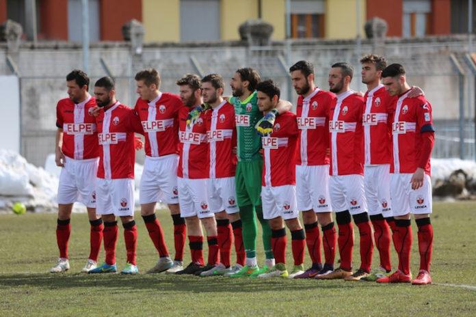 La squadra di calcio del Cuneo