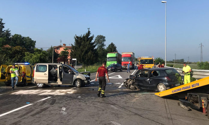 Incidente stadale a Fossano