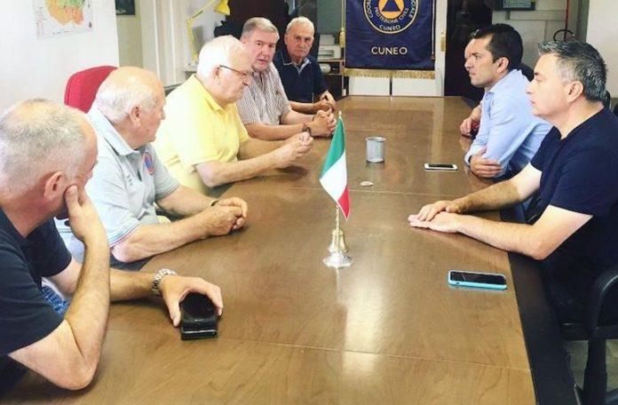 Confronto fra Protezione civile, Regione Piemonte e amministratori di Fossano