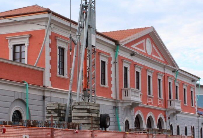 La stazione ferroviaria di Fossano dopo il recente restauro