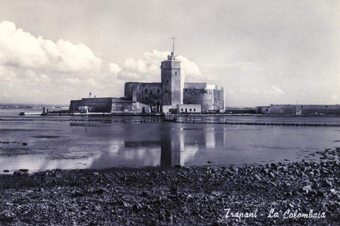 La colombaia di Trapani negli Anni 60, quando ospitava il carcere