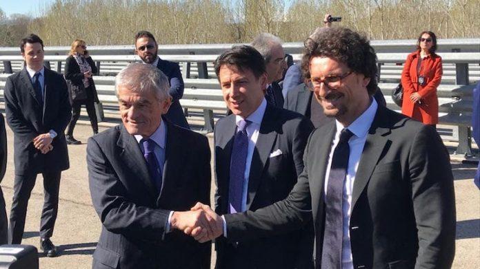 Asti-Cuneo: la visita ai cantieri del presidente Conte