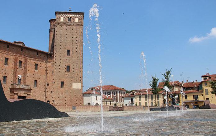 Fontana di piazza Castello a Fossano