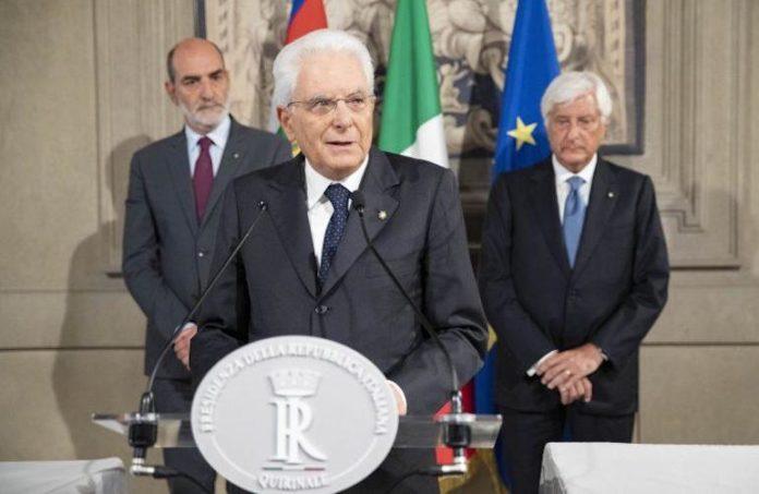 Sergio Mattarella conferenza stampa