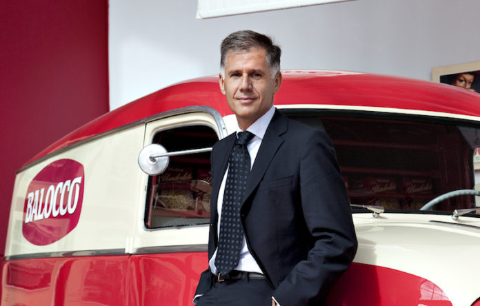 Alberto Balocco. presidente e Ad azienda dolciaria