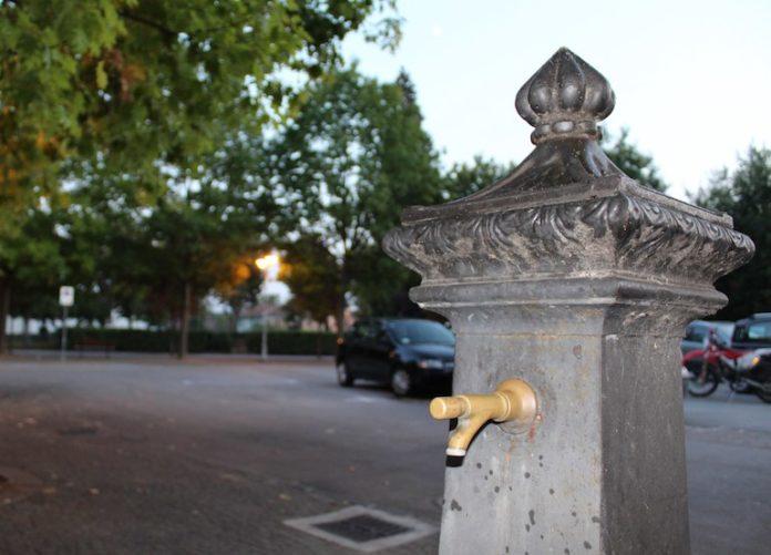 Una fontana di Bene Vagienna