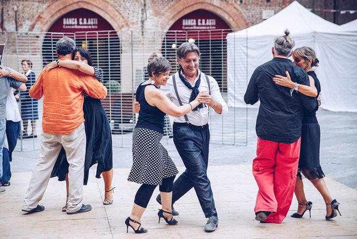 I cortili del tango 2019 a Fossano