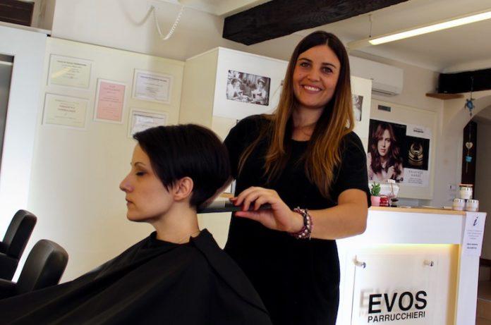 Alice Musso, la titolare di Evos parrucchieri