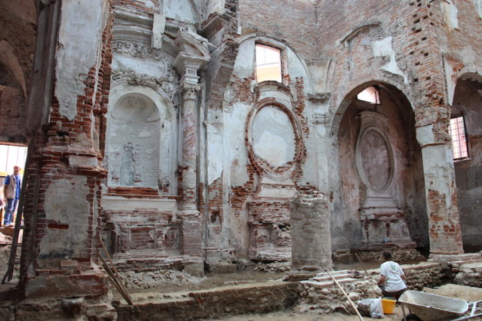 Chiesa del Salice Vecchio, i lavori di restauro