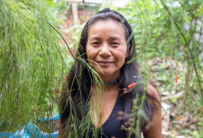 Anitalia Claxi Kuyuedo, colombiana, a Roma per il Sinodo sull'Amazzonia