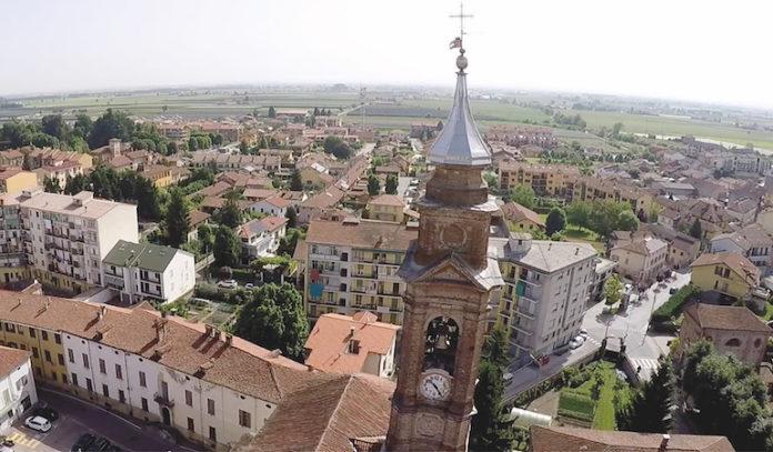 Centallo - veduta panoramica