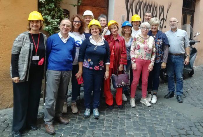 Il gruppo di Presidi della provincia di Cuneo a Roma