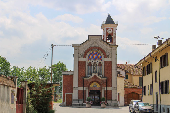 La chiesa di Maddalene, frazione di Fossano