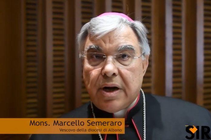 mons. Marcello Semeraro è vescovo di Albano Laziale