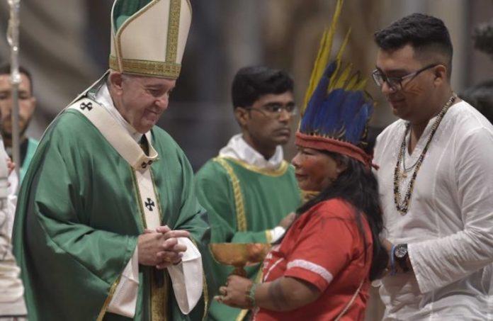 Celebrazione di apertura del Sinodo per l'Amazzonia