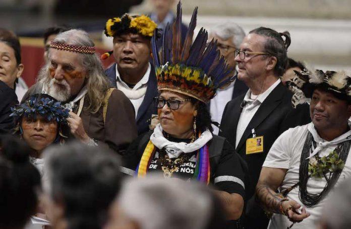 Processione e inizio dei lavori del Sinodo sulla Amazzonia