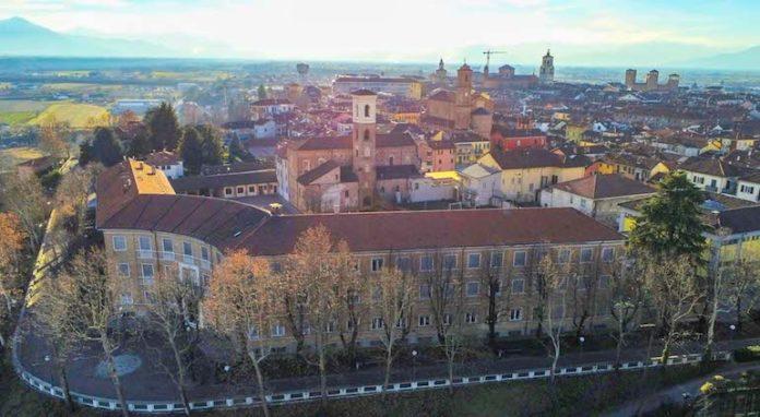 Fossano, centro storico - vista panoramica