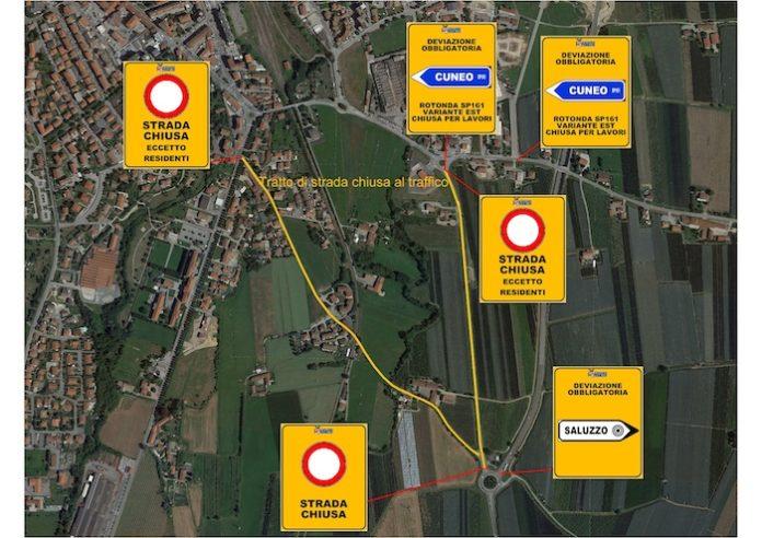 mappa viabilità saluzzo