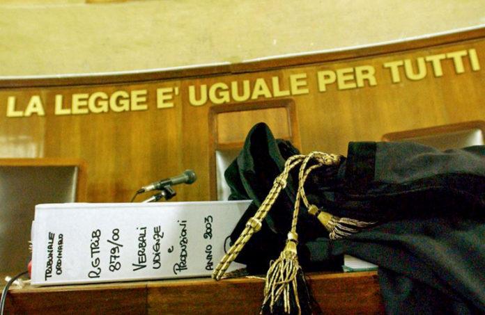Tribunale Giustizia - foto di repertorio