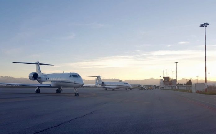 L'aeroporto di Levaldigi