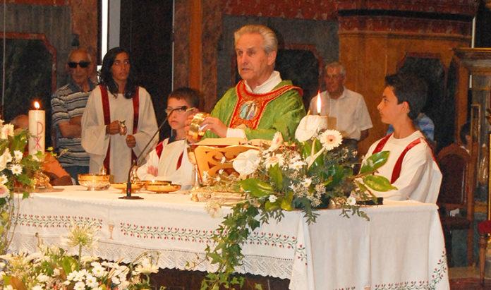 Centallo Aimetta Don Giovanni Saluto