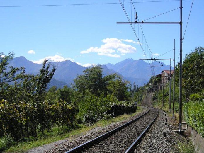 La linea ferroviaria Cuneo-Nizza