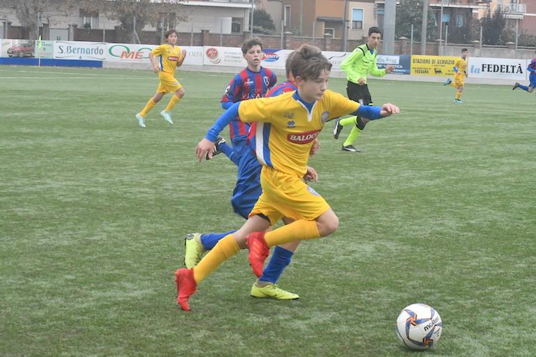 La Giovanile Centallo vince il derby under 14 contro il Fossano - La Fedeltà
