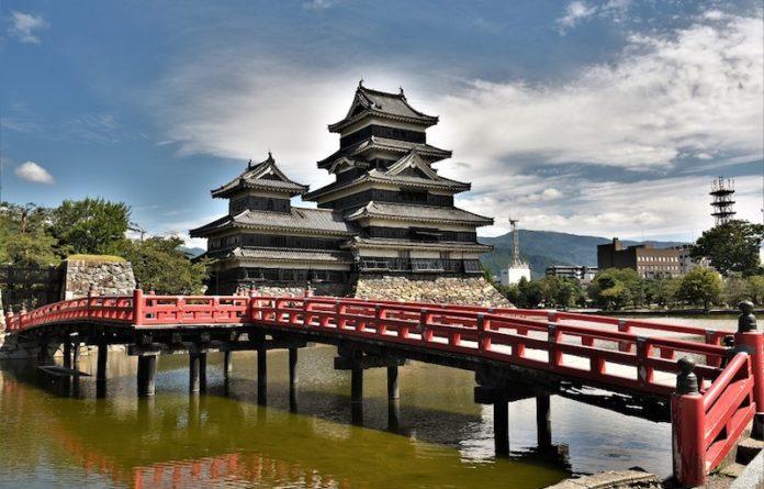 Pagoda Buddhista in Giappone