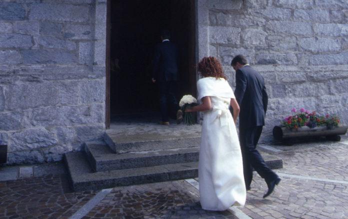 Due sposi il giorno del matrimonio