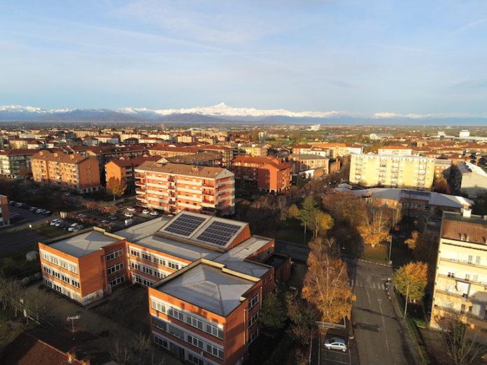 Borgo Nuovo vista dall'alto