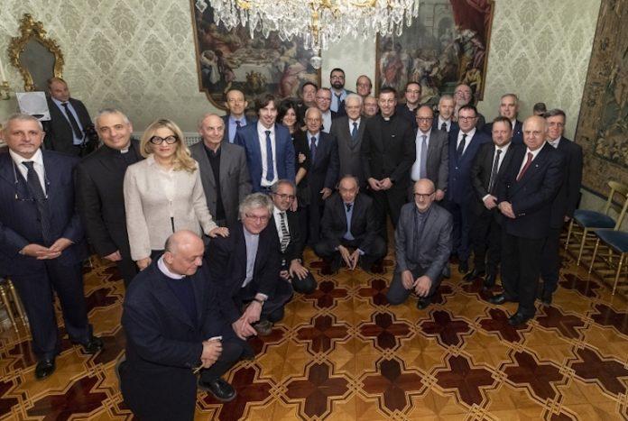 i rappresentanti della Fisc all'incontro con il presidente della Repubblica Mattarella