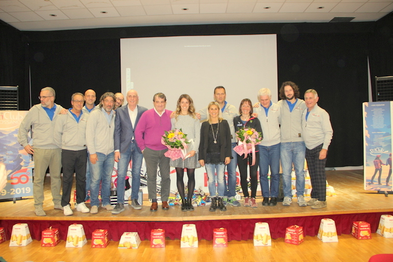 I 50 anni dello Sci Club Fossano con le campionesse Bassino e Tomatis - La Fedeltà