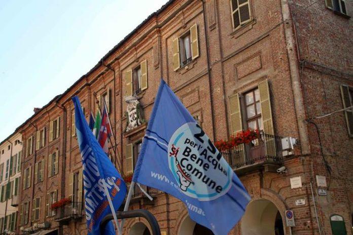 Acqua pubblica presidio Fossano
