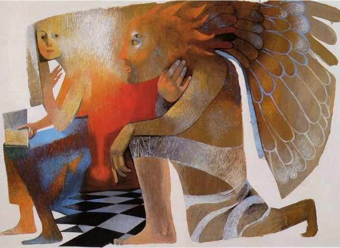 L'Annunciazione del pittore Arcabas