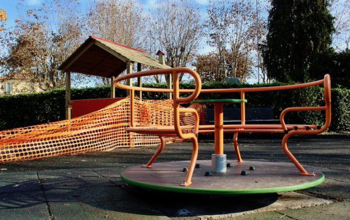 I giardini pubblici di Bene Vagienna